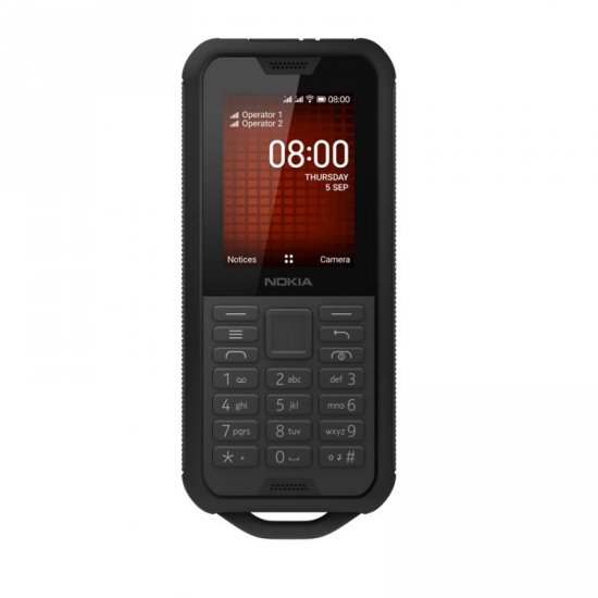 NOKIA 800 Tough 512MB RAM 4GB Dual Sim Black