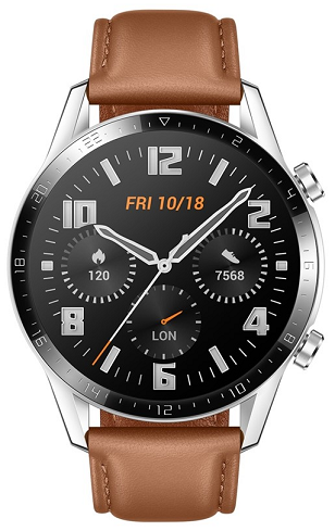 Huawei Watch GT 2 Classic Leather Brown