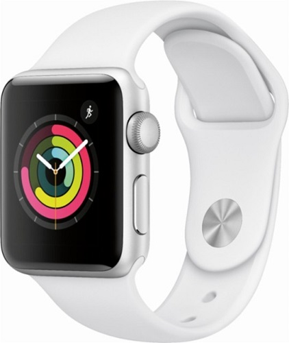 Apple Watch Series 3 GPS 42mm Silver Case With White Bracelet