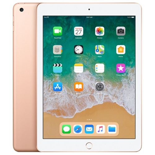 Apple iPad 9.7 (2018) Wi-Fi+Cellular 128GB Gold MRM22FD/A