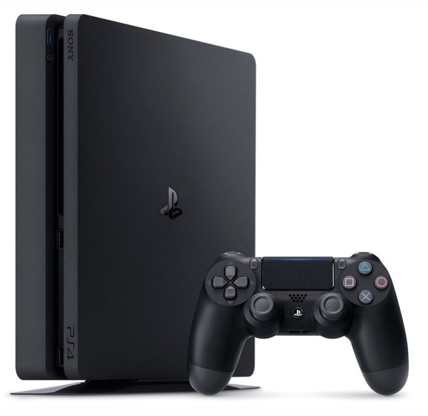 Sony PlayStation 4 Slim 500GB Black + Extra Controller