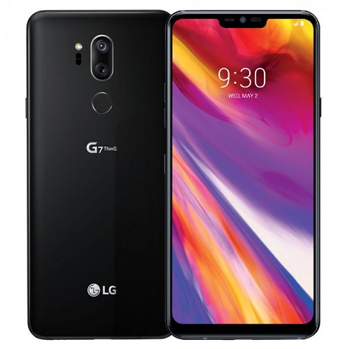 LG G7 ThinQ 64GB Black LOGO
