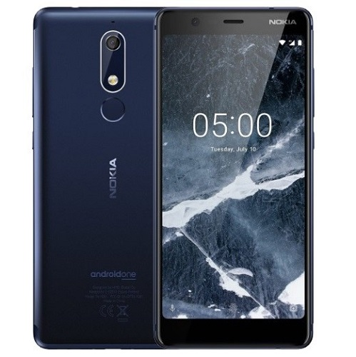 Nokia 5.1 Dual Sim 16GB Tempered Blue