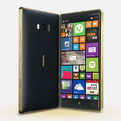 Nokia Lumia 930 Black - Gold