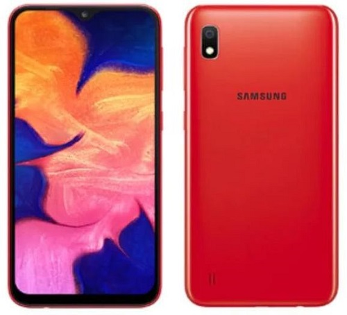 Samsung Galaxy A10 Dual Sim RAM 2GB 32GB Red