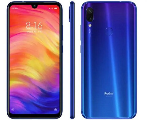 XIAOMI Redmi Note 7 4GB RAM 128GB Dual Sim Blue Global